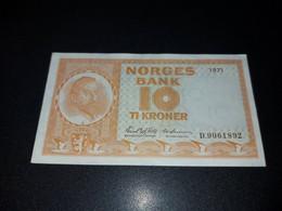 NORWAY 10 KRONEN 1971. AUNC - Norway