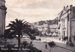 Cartolina Di Paternò ( Catania ) Piazza S. Barbara - Catania