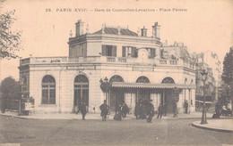 75 - PARIS 17è / GARE DE COURCELLES LEVALLOIS - PLACE PEREIRE - Distretto: 17