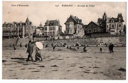 CPA 35 - PARAME (Ille Et Vilaine) - 545. Groupe De Villas - ELD (petite Anim.) - Parame