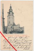 Krakau Kraków - 1899 - Rathausturm - Poland