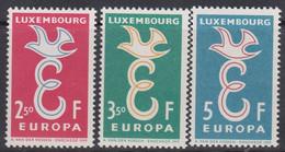 Europa Luxembourg 1958 ** / Mich /  590-92 / Xz446 - Sin Clasificación