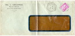 MARNE / HAUTE Dépt N° 52 = St DIZIER Les ?OTS 1937 / Recette Auxiliaire Rurale = CACHET Hexagonal Plein E4 - Manual Postmarks