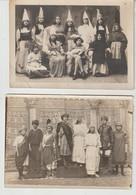 Cher SAINT AMAND MONTROND Pensionnat St Joseph 8 Photos De Spectacle Années 1920-1926 Au Dos Nom Des élèves - Zonder Classificatie
