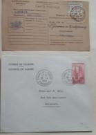 FRANCE - SERVICE -  8 Documents Différents - 4 Photos - Petit Prix - Lettres & Documents
