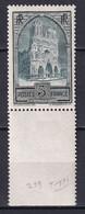 1930 - YVERT N° 259 TYPE IV ** MNH LUXE BORD DE FEUILLE ! - COTE = 135 EUR. - REIMS - Neufs