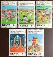 Kenya 1986 World Cup MNH - Kenya (1963-...)