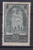 1930 - YVERT N° 259 TYPE III RARE ** MNH MAIS QUELQUES DENTS COURTES ! - COTE = 900 EUR. - REIMS - Neufs