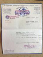 Algérie: Facture Commerciale à Entête Judaïca - Alger 1964 - Transportmiddelen