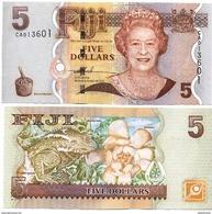 FIJI      5 Dollars     P-110a      ND (2007)     UNC - Fiji