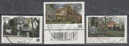 4092/4094 Maisons D'ecrivains/schrijvers Huizen Oblit /gestp Centrale - Used Stamps