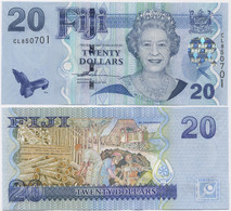 FIJI      20 Dollars     P-112a      ND (2007)     UNC - Fiji