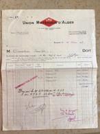 Algérie: Facture Commerciale à Entête Judaïca - Alger 1953 - Ambachten