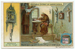 1641.Galilée Réussit à Construire Une Horloge à Pendule.horlogerie Concerne Les Horloges Mécaniques, Montres Et Pendules - Liebig