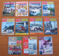 Revue Caravane Et Camping 1966 Digue ACC Notin Gruau Caravaning ( INCOMPLET Manque 1eres Pages Mais ESSAIS PRESENTS ) - Auto/Moto