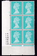 """SG 739c - UB21 - Cyl 3 No Dot - Variety """"Missing Pearls"""" (R. 19/21) - MNH *** - Unused Stamps"""