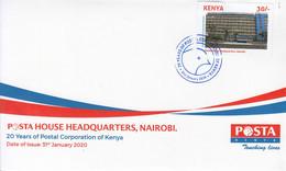 2020 Kenya  Postal Corporation Of Kenya First Day Cover - Kenia (1963-...)
