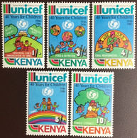 Kenya 1987 UNICEF MNH - Kenya (1963-...)
