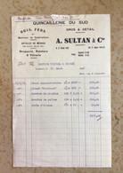 Algérie: Facture Commerciale à Entête Judaïca - Boghari 1935 - Ambachten