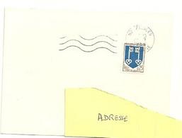 MARNE / HAUTE Dépt N° 52 = BIESLES 1966 =  FLAMME Codée = SECAP Muette '5 Lignes Ondulées - Mechanical Postmarks (Advertisement)