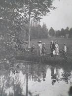 Pêcheurs Etang Le Brouchy Aout 1913 - Lugares