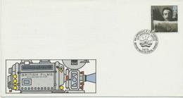 """GB 1985 British Film Year 17 P FDC BRITISH FORCES 2101 POSTAL SERVICES"""" - 1981-90 Ediciones Decimales"""