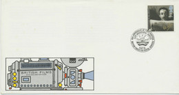 "GB 1985 British Film Year 17 P FDC BRITISH FORCES 2101 POSTAL SERVICES"" - 1981-1990 Decimal Issues"