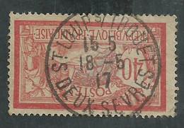 Type Merson No 119 Papier GC Oblitération Saint Loup Sur Thouet (Deux Sèvres) - 1900-27 Merson