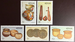 Kenya 1988 Material Culture Handicrafts MNH - Kenya (1963-...)