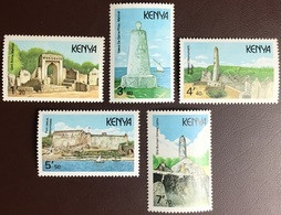 Kenya 1989 Historic Monuments MNH - Kenya (1963-...)