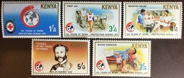 Kenya 1989 Red Cross MNH - Kenya (1963-...)