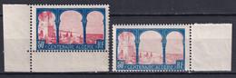 CENTENAIRE ALGERIE - YVERT N°263 ** MNH - 2 NUANCES ! - BORDS DE FEUILLE - Unused Stamps