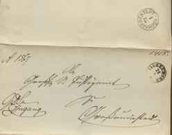 ~ 1850 VIESELBACH Bfh. N. Grossrudenstedt - [1] Prephilately