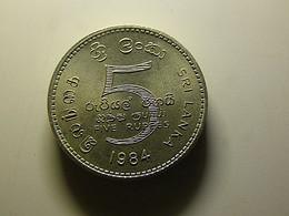 Sri Lanka 5 Rupees 1984 - Sri Lanka