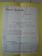 Contrat Récital ANNIE CORDY Au CAPITOLE De Toulouse 1965 Signé Par Louis IZAR - FRANCE-SPECTACLE - Non Classificati