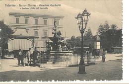 Palermo - Piazza Marina - Giardino Garibaldi E Fontana Detta Del Garraffo - HP1386 - Palermo