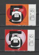 FRANCE / 2021 / Y&T N° 5464/5465 ** : Chanel N°5 (2 TP Gommés De Feuille) X 1 Paire BdF D FSC - Unused Stamps
