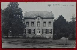 CPA 1925 Sombreffe Propriété De M. L. Fréson - Sombreffe