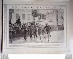 1909 LE TOUR DE FRANCE CYCLISME - FABER - AVIATION LE TRIOMPHE DE BLERIOT - ACCIDENT DE LATHAM - LE HAVRE TROUVILLE - Other