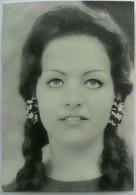Mini Cartoncino Pubblicitario AUGUSTA (Cantagiro 1966) - Photographs