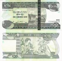 Ethiopia 2015 (2007) - 100 Birr - Pick 52g UNC - Ethiopia