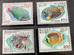 1968 - Solidariteit, 125ste Verjaardag Van De Zoo Van Antwerpen - Postfris/Mint - Unused Stamps