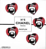 France 2021 - Yv N° 152 ** - Bloc - Cœur - Chanel - Neufs