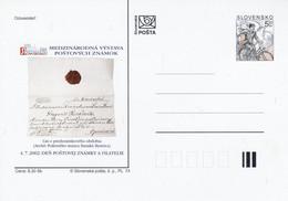 SLOVAQUIE ENTIER CARTE NEUF EXPO SLOVENSKO 2002 - Postales