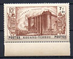 ColTGC  Kouang Tchéou N° 121 Neuf XX MNH  Cote 20,00 € - Non Classés