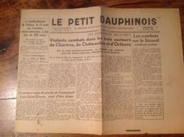 JOURNAL DRÔME LE PETIT DAUPHINOIS VALENCE GUERRE CHATEAUDUN ORLÉANS CREST 26 - Andere