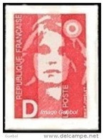 Autoadhésif(s) De France N°    2 ** Ou N° 2713 - Marianne Du Bicentenaire - Briat - Lettre D = 2.50 Rouge - Ongebruikt