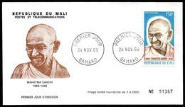 Mali A 083 Fdc , Mahatma Gandhi - Mahatma Gandhi