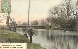 33 - Gironde - Coutras - Les Bords De La Dronne Au Pont (N3557) - Libourne