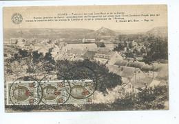 Nismes Panorama Des Rues Saint Roch Et De La Station - Viroinval